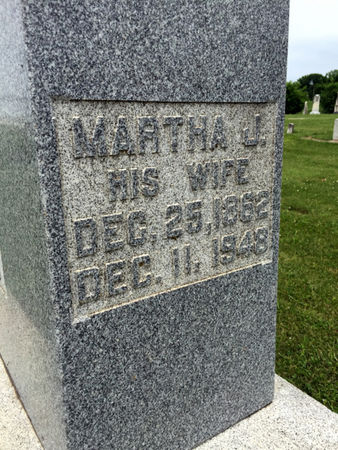 SIMMONS, MARTHA J. - Van Buren County, Iowa | MARTHA J. SIMMONS