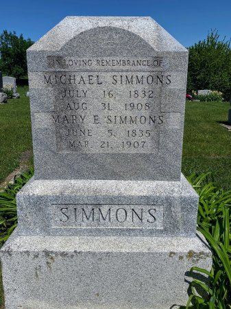 DORSEY SIMMONS, MARY ELLEN - Van Buren County, Iowa | MARY ELLEN DORSEY SIMMONS