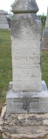 BATCHELOR SIMMONS, MARGARET B. - Van Buren County, Iowa | MARGARET B. BATCHELOR SIMMONS