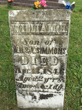 SIMMONS, WILLIAM H. - Van Buren County, Iowa | WILLIAM H. SIMMONS