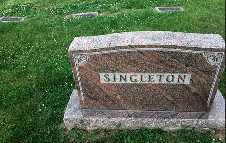 SINGLETON, FAMILY MONUMENT - Van Buren County, Iowa | FAMILY MONUMENT SINGLETON