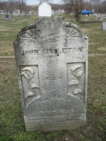 SINGLETON, JOHN - Van Buren County, Iowa | JOHN SINGLETON