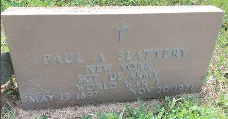 SLATTERY, PAUL A - Van Buren County, Iowa | PAUL A SLATTERY