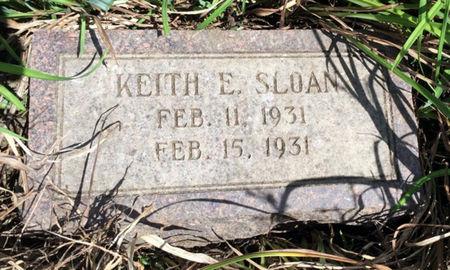 SLOAN, KEITH E. - Van Buren County, Iowa | KEITH E. SLOAN