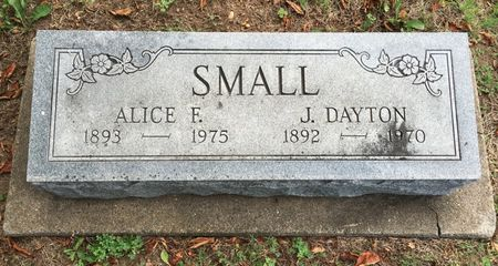 SMALL, J DAYTON - Van Buren County, Iowa | J DAYTON SMALL