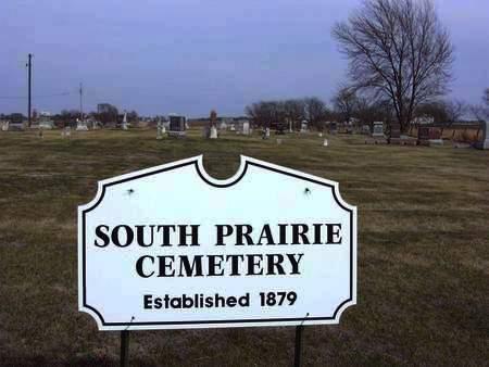 SOUTH PRAIRIE, CEMETERY - Van Buren County, Iowa | CEMETERY SOUTH PRAIRIE