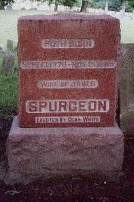 SPURGEON, RUTH - Van Buren County, Iowa | RUTH SPURGEON