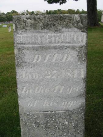 STANDLEY, ROBERT - Van Buren County, Iowa   ROBERT STANDLEY