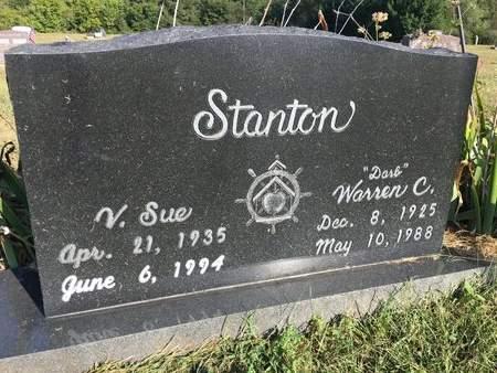 SHARP STANTON, V. SUE - Van Buren County, Iowa | V. SUE SHARP STANTON