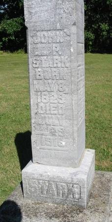 STARK, JOHN - Van Buren County, Iowa   JOHN STARK