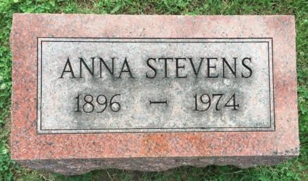 BEHRENS STEVENS, ANNA - Van Buren County, Iowa | ANNA BEHRENS STEVENS