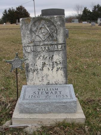 STEWART, WILLIAM - Van Buren County, Iowa   WILLIAM STEWART
