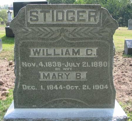 BONNEY STIDGER, MARY B. - Van Buren County, Iowa | MARY B. BONNEY STIDGER
