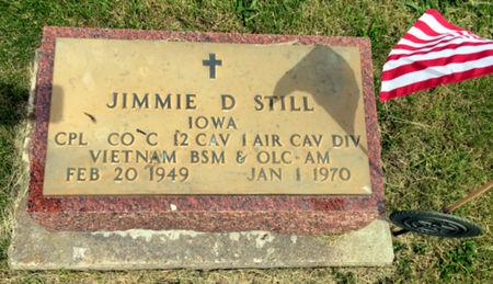 STILL, JIMMIE D - Van Buren County, Iowa | JIMMIE D STILL