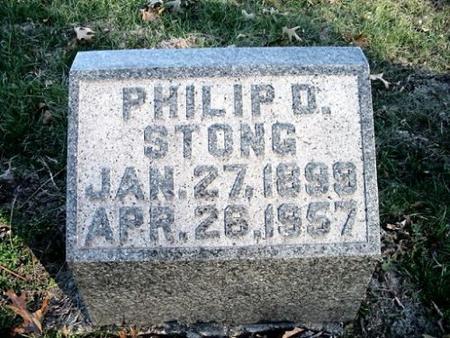 STONG, PHILIP D. - Van Buren County, Iowa | PHILIP D. STONG
