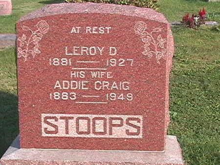 CRAIG STOOPS, ADDIE - Van Buren County, Iowa | ADDIE CRAIG STOOPS