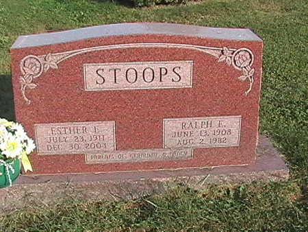 STOOPS, RALPH - Van Buren County, Iowa | RALPH STOOPS