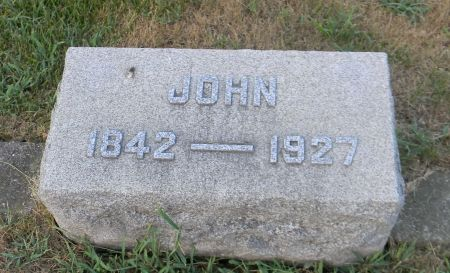 STORY, JOHN - Van Buren County, Iowa | JOHN STORY