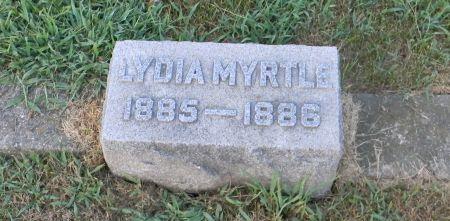 STORY, LYDIA MYRTLE - Van Buren County, Iowa   LYDIA MYRTLE STORY