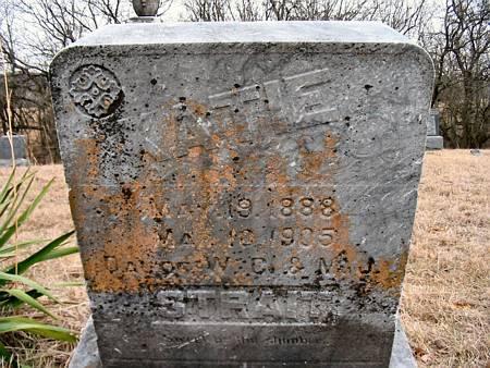 STRAIT, KATIE (MRS.) - Van Buren County, Iowa   KATIE (MRS.) STRAIT