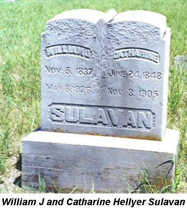 SULAVAN, WILLIAM & CATHARINE - Van Buren County, Iowa | WILLIAM & CATHARINE SULAVAN