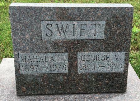 HOLS SWIFT, MAHALA H. - Van Buren County, Iowa | MAHALA H. HOLS SWIFT