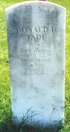 TADE, DONALD B. - Van Buren County, Iowa | DONALD B. TADE