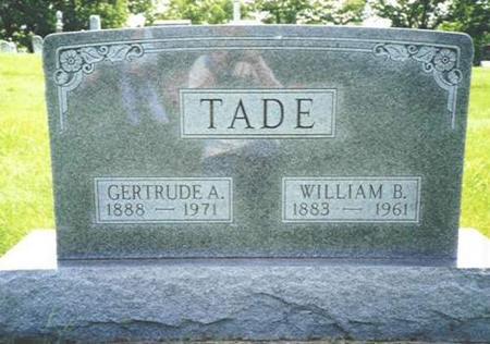 TADE, WILLIAM B. - Van Buren County, Iowa | WILLIAM B. TADE