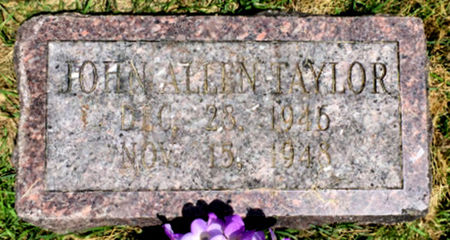 TAYLOR, JOHN ALLEN - Van Buren County, Iowa   JOHN ALLEN TAYLOR