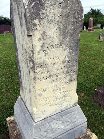 WILLITS THATCHER, MARY M. - Van Buren County, Iowa | MARY M. WILLITS THATCHER