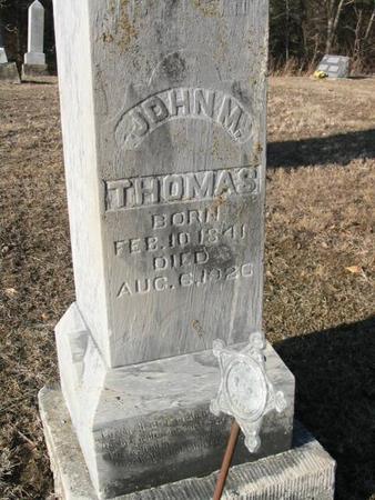 THOMAS, JOHN M. - Van Buren County, Iowa | JOHN M. THOMAS