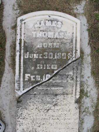 THOMAS, JAMES - Van Buren County, Iowa | JAMES THOMAS