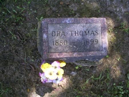 THOMAS, ORA - Van Buren County, Iowa | ORA THOMAS