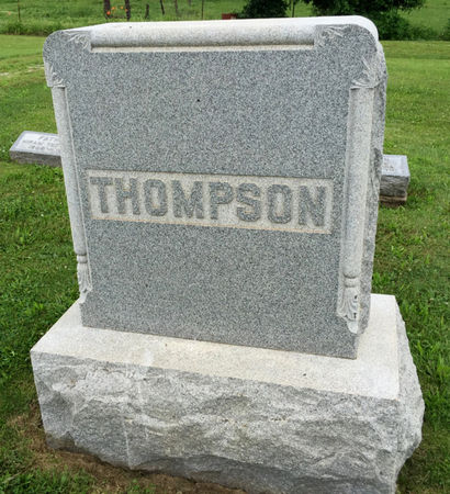 THOMPSON, FAMILY MONUMENT - Van Buren County, Iowa | FAMILY MONUMENT THOMPSON