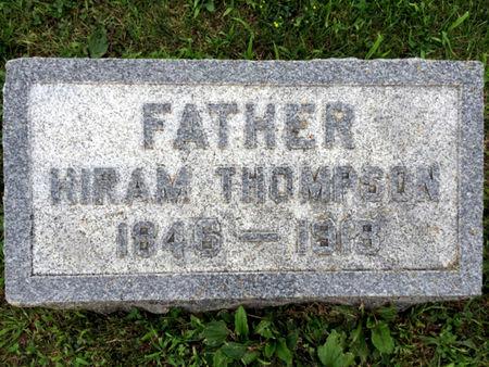 THOMPSON, HIRAM - Van Buren County, Iowa | HIRAM THOMPSON