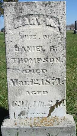 THOMPSON, MARY M. - Van Buren County, Iowa | MARY M. THOMPSON