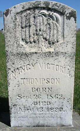 THOMPSON, NANCY VICTORIA - Van Buren County, Iowa | NANCY VICTORIA THOMPSON