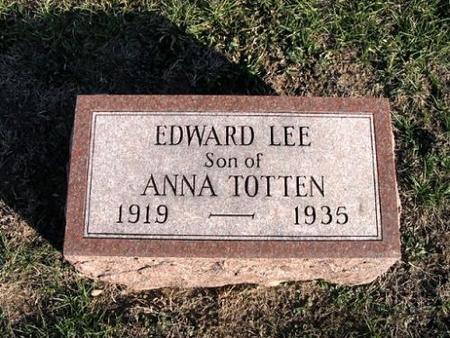 TOTTEN, EDWARD LEE - Van Buren County, Iowa | EDWARD LEE TOTTEN
