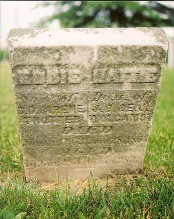WOLGAMOT, HATTIE - Van Buren County, Iowa   HATTIE WOLGAMOT