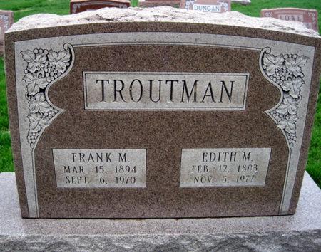 TROUTMAN, FRANK M. - Van Buren County, Iowa | FRANK M. TROUTMAN