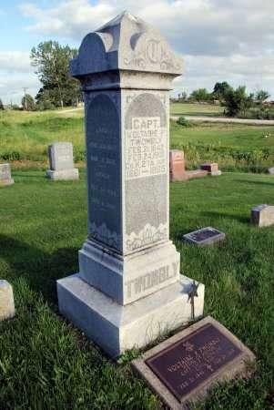 TWOMBLY, CAPT. VOLTAIRE P. - Van Buren County, Iowa | CAPT. VOLTAIRE P. TWOMBLY