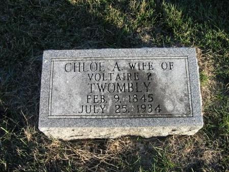 TWOMBLY, CHLOE A. - Van Buren County, Iowa | CHLOE A. TWOMBLY