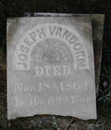 VANDORN, JOSEPH - Van Buren County, Iowa | JOSEPH VANDORN