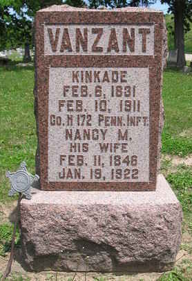 VAN ZANT, KINKADE - Van Buren County, Iowa | KINKADE VAN ZANT