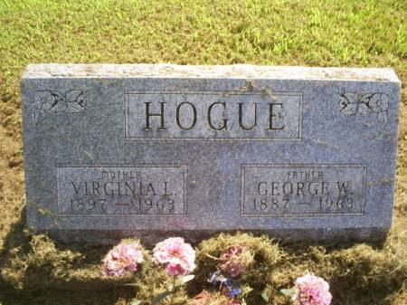 HOGUE, GEORGE W - Van Buren County, Iowa | GEORGE W HOGUE
