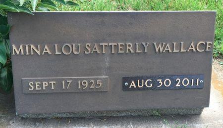 SATTERLY WALLACE, MINA LOU - Van Buren County, Iowa | MINA LOU SATTERLY WALLACE