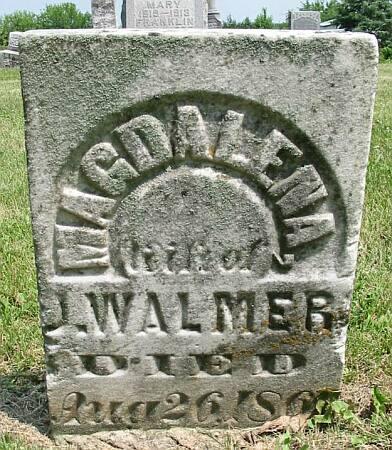 TOBIAS WALMER, MAGDALENA - Van Buren County, Iowa | MAGDALENA TOBIAS WALMER