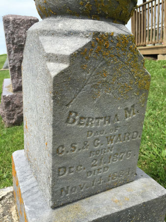 WARD, BERTHA M. - Van Buren County, Iowa | BERTHA M. WARD