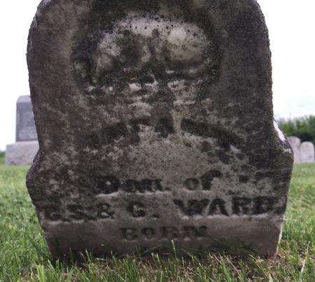 WARD, INFANT DAUGHTER - Van Buren County, Iowa | INFANT DAUGHTER WARD