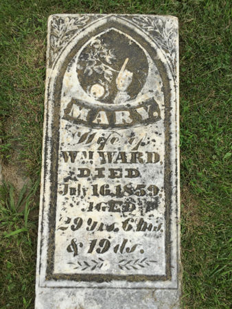WARD, MARY - Van Buren County, Iowa | MARY WARD